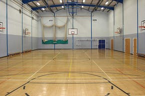 St. James's C of E High School | Indoor Basketball Court