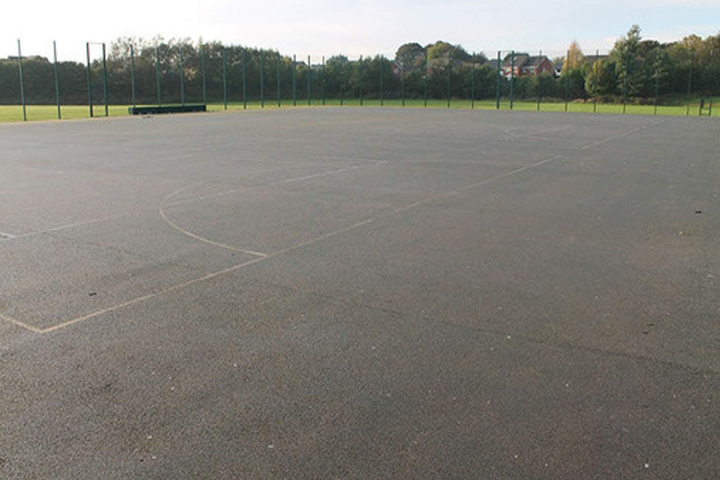 St. James's C of E High School Outdoor   Hard (macadam) netball court