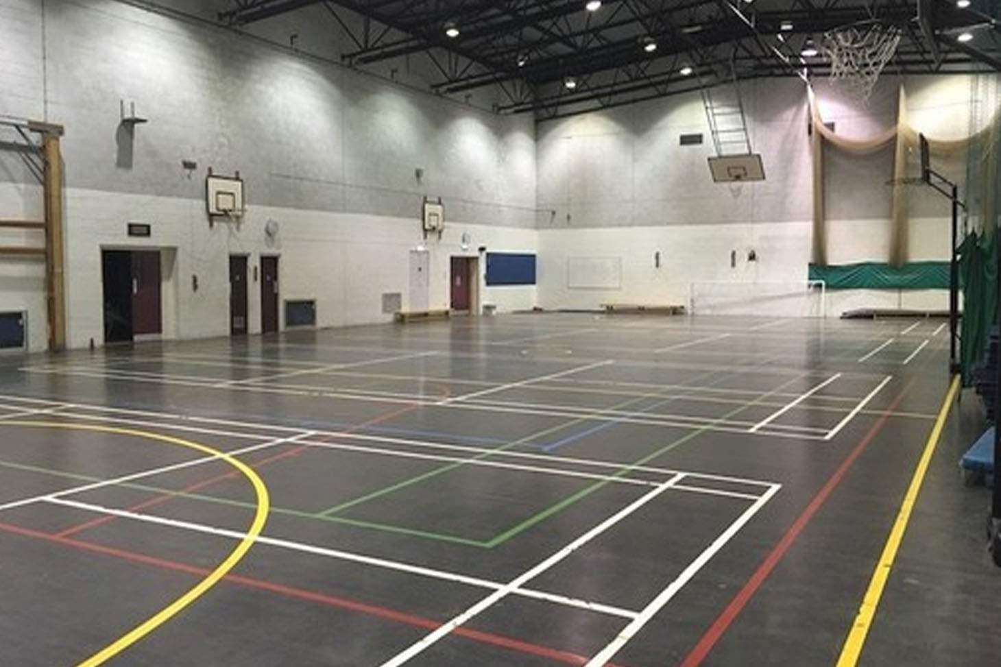 Woodhey High School 5 a side   Indoor football pitch