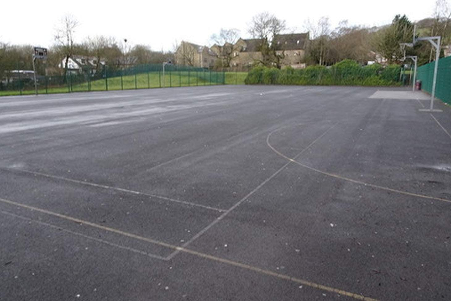 Woodhey High School Outdoor | Hard (macadam) netball court