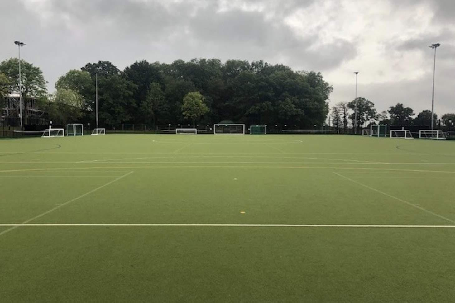Beaumont School Outdoor | Astroturf hockey pitch