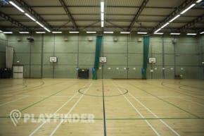 The Harefield Academy   Indoor Netball Court