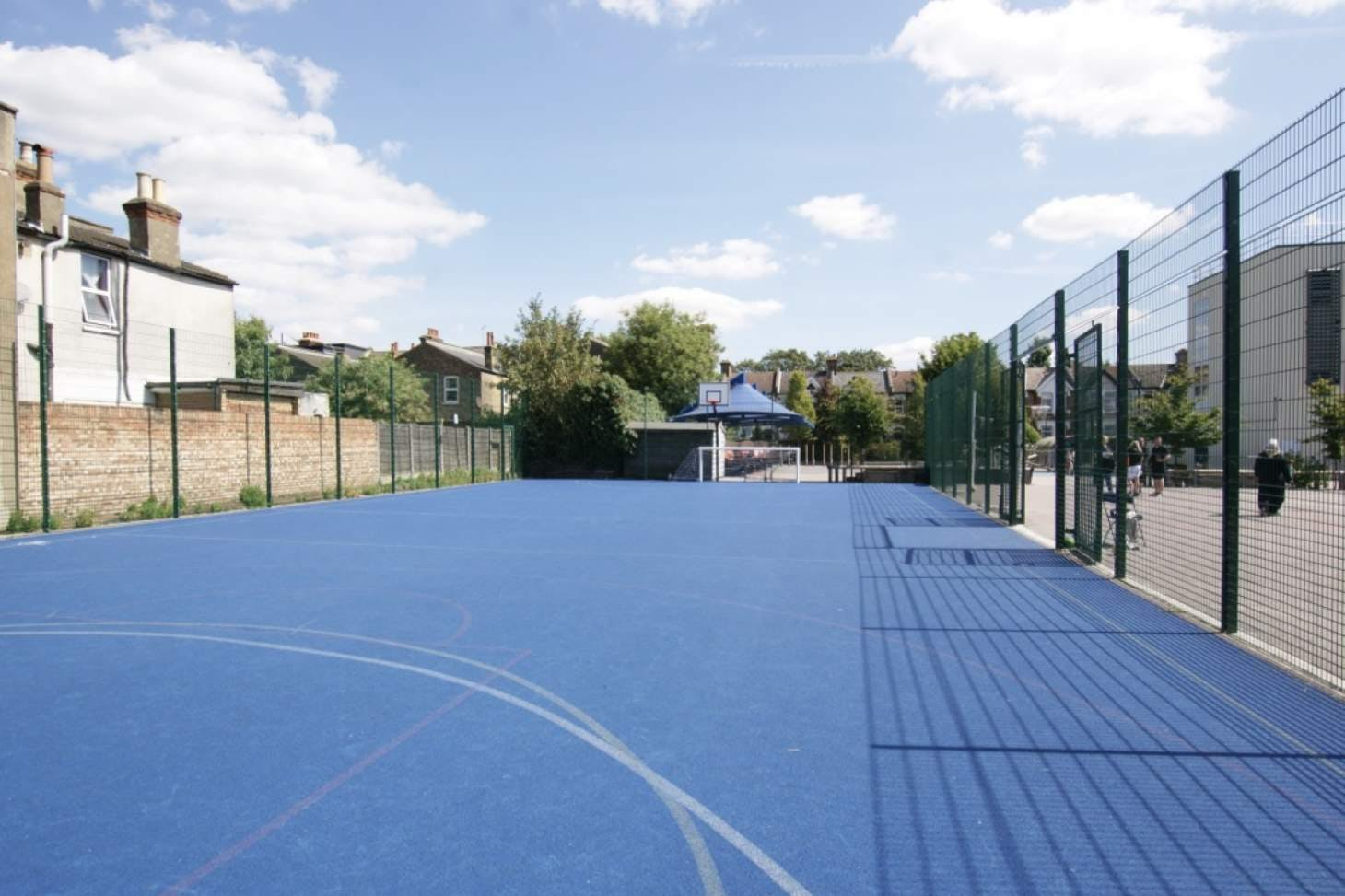George Tomlinson Primary School Outdoor | Hard (macadam) basketball court