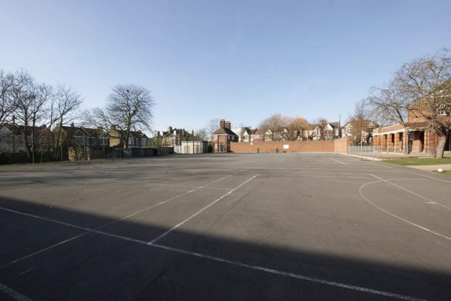Walthamstow School for Girls Outdoor | Hard (macadam) netball court