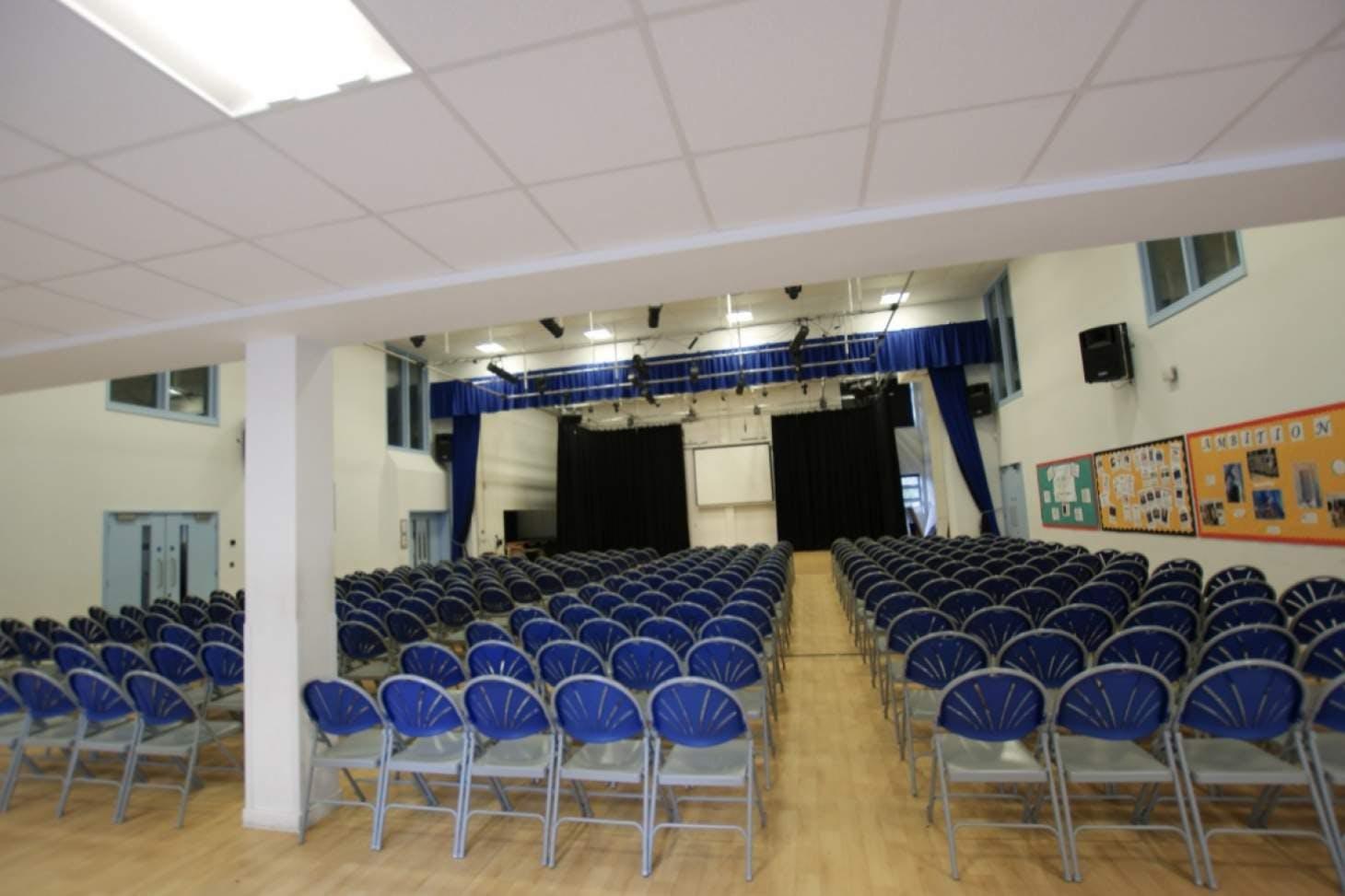 Greenwich Free School Main hall space hire