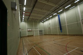 Greenwich Free School | Indoor Badminton Court