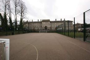 Greenwich Free School | Concrete Basketball Court