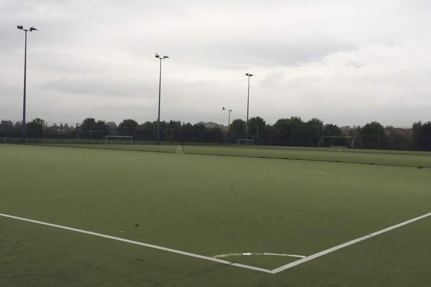 National Church of England Academy Outdoor | Astroturf hockey pitch