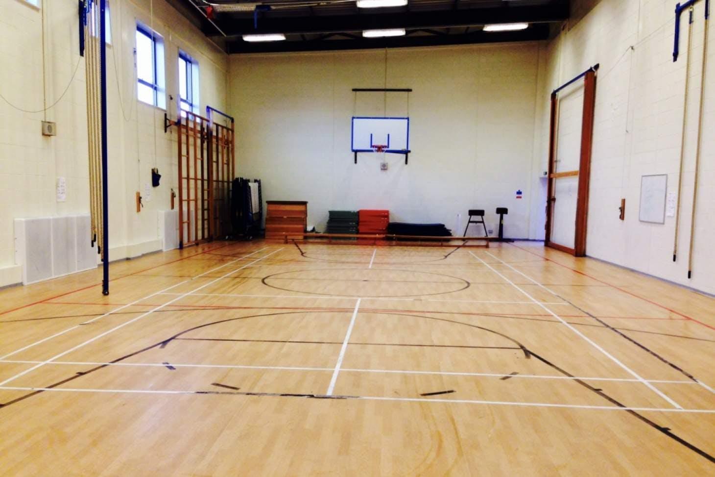 Miltoncross Academy Gymnasium space hire