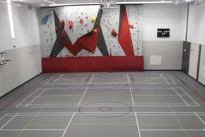Godolphin and Latymer School | Indoor Basketball Court