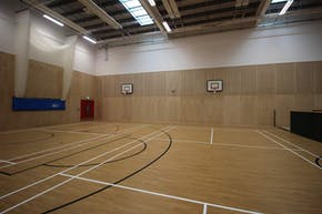 Ark Pioneer Academy | Indoor Basketball Court
