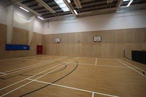 Ark Pioneer Academy | Indoor Netball Court