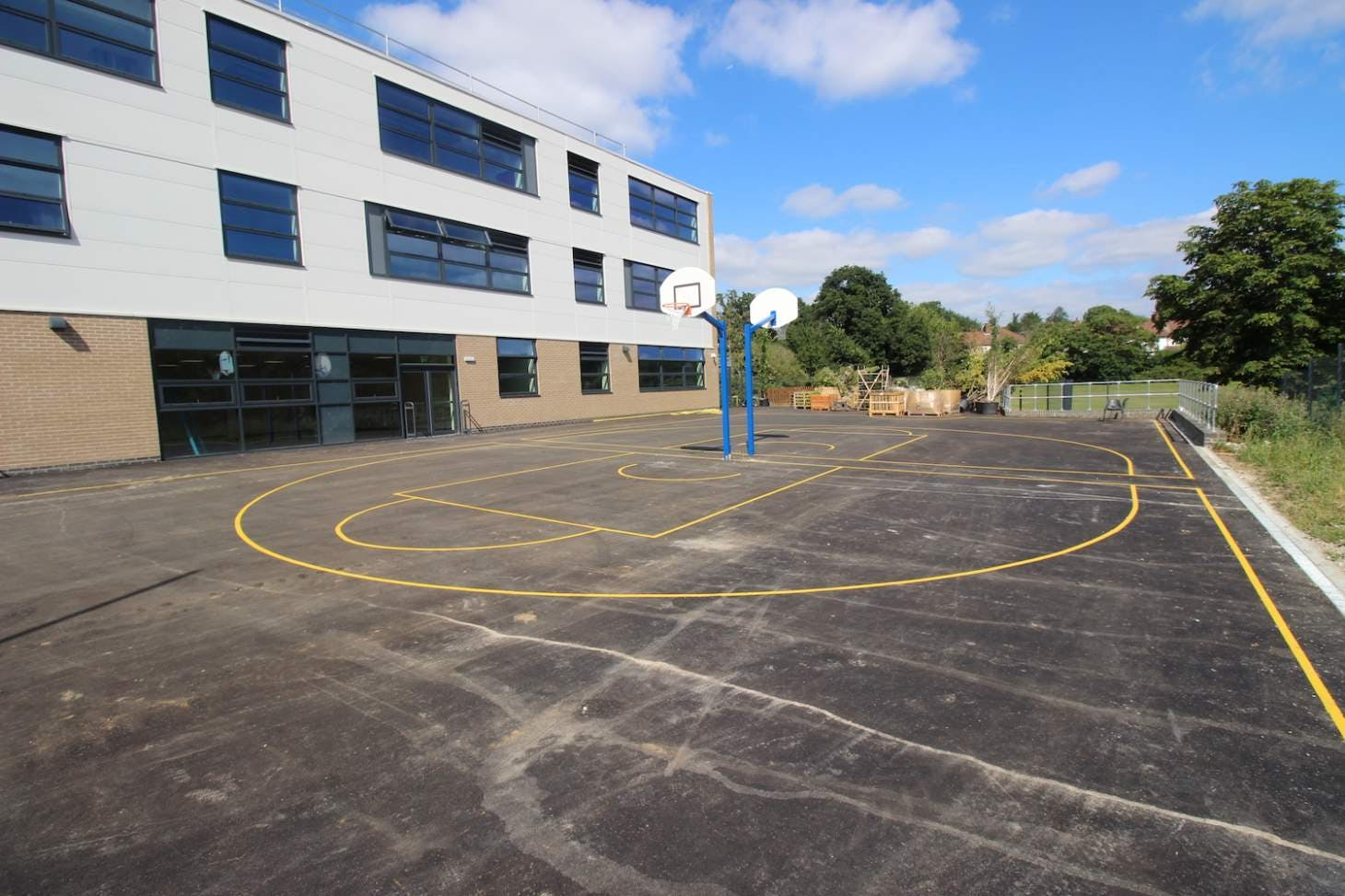 Ark Pioneer Academy Pitch | Hard (macadam) hockey pitch