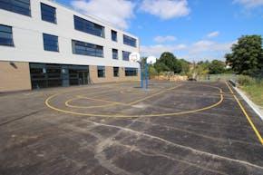 Ark Pioneer Academy   Hard (macadam) Basketball Court