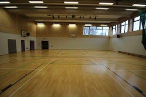 Stormont House School   Indoor Hockey Pitch