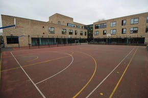 Stormont House School | Hard (macadam) Basketball Court
