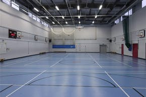 Little Ilford School | Indoor Netball Court