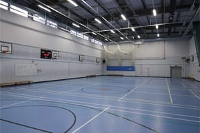 Little Ilford School | Sports hall Volleyball Court
