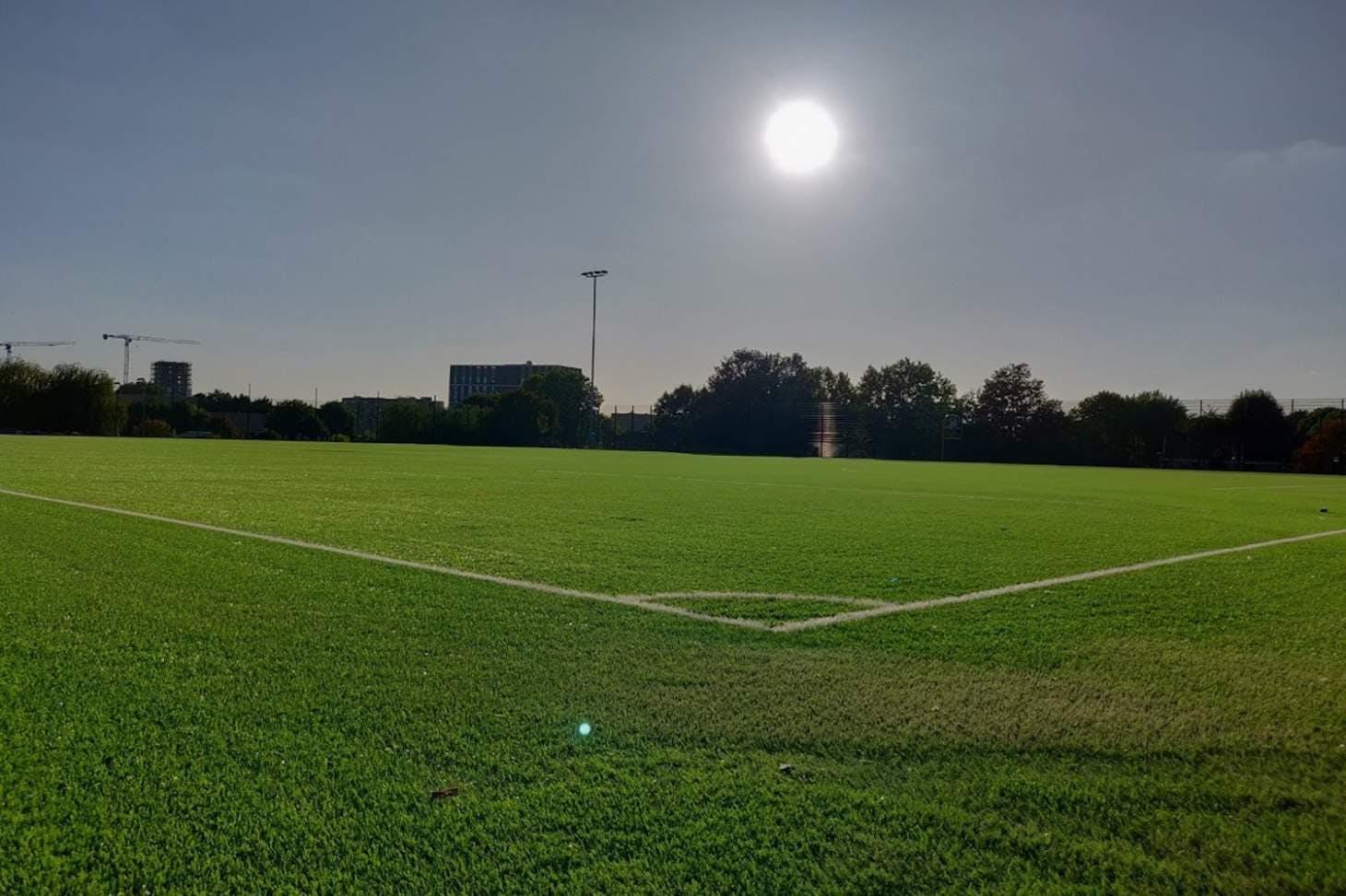 St James Catholic High School 9 a side | 3G Astroturf football pitch