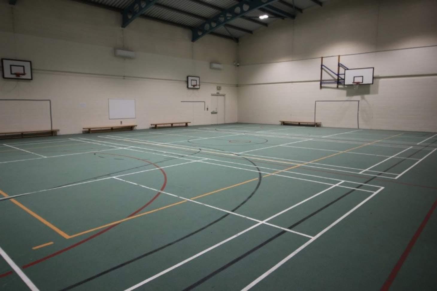 St James Catholic High School Indoor badminton court