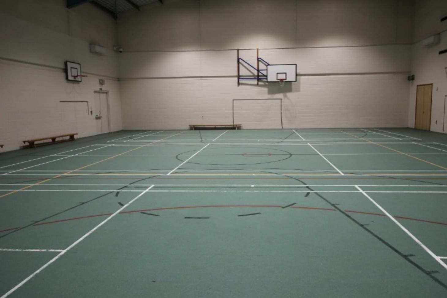 St James Catholic High School Indoor basketball court