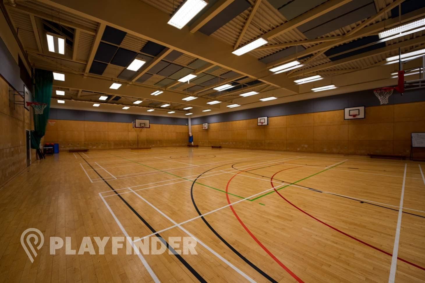 King Solomon Academy Indoor basketball court