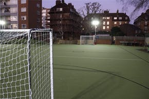 Ashburnham Community Primary School | Astroturf Netball Court