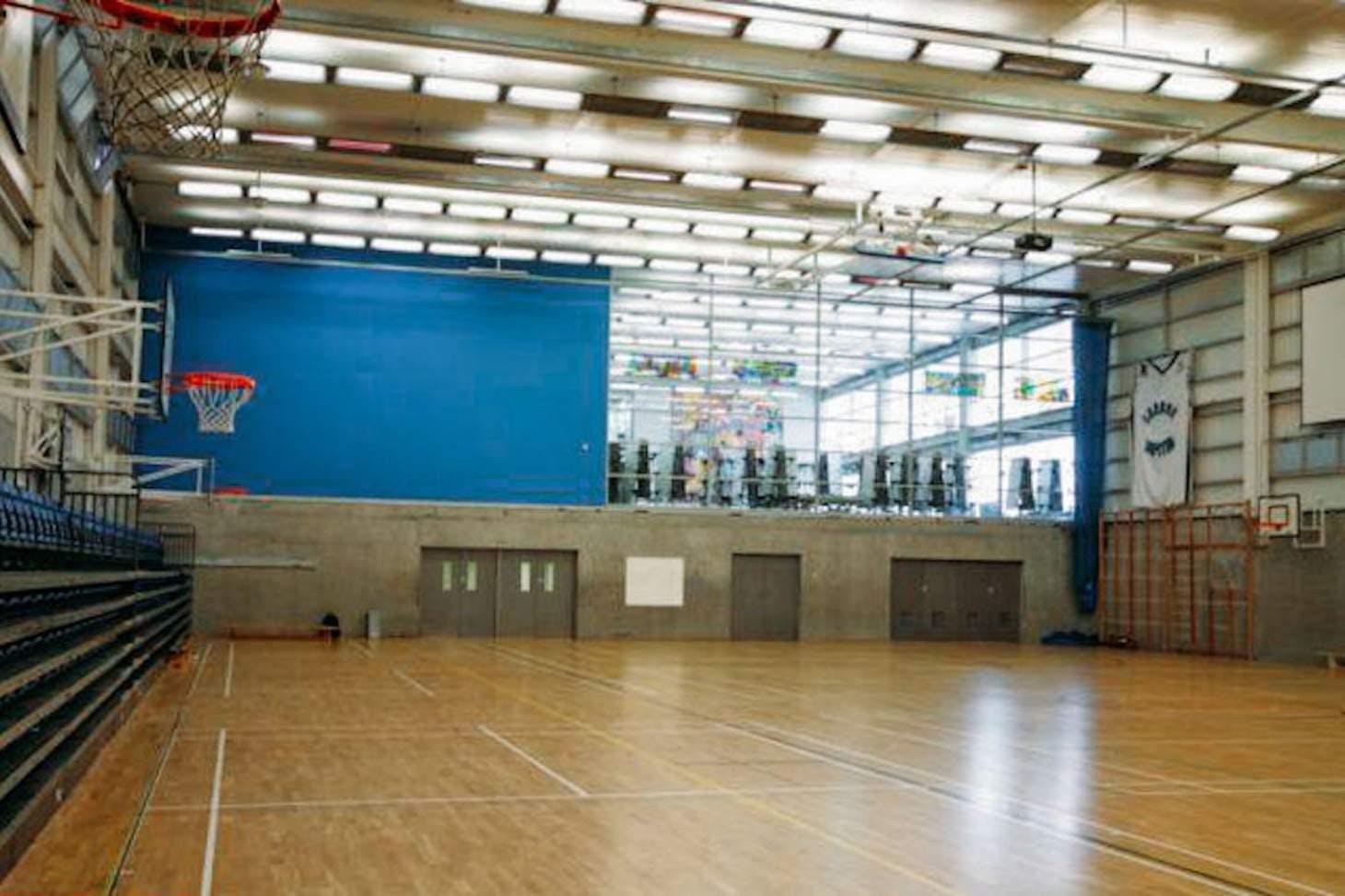 Capital City Academy Indoor basketball court
