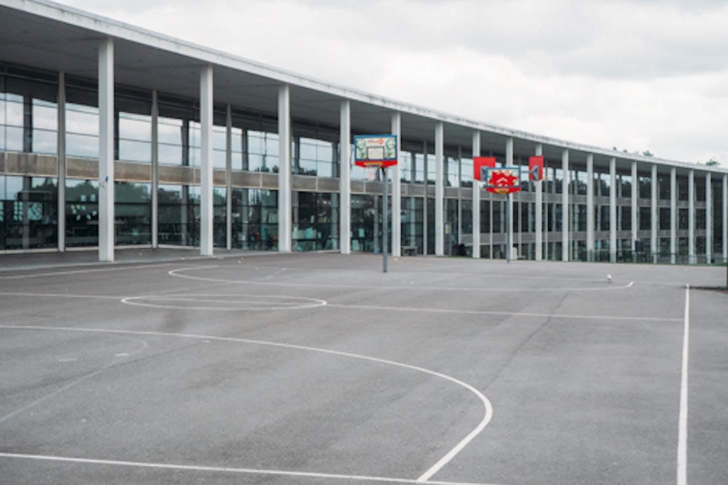 Capital City Academy Outdoor | Hard (macadam) netball court