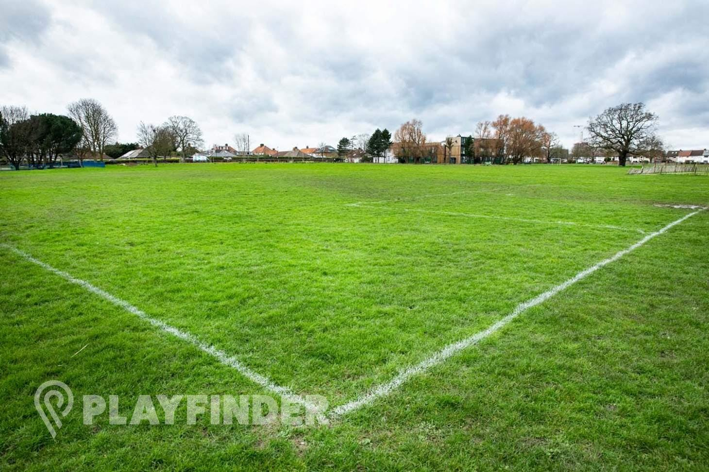 North Acton Playing Fields 9 a side | Grass football pitch
