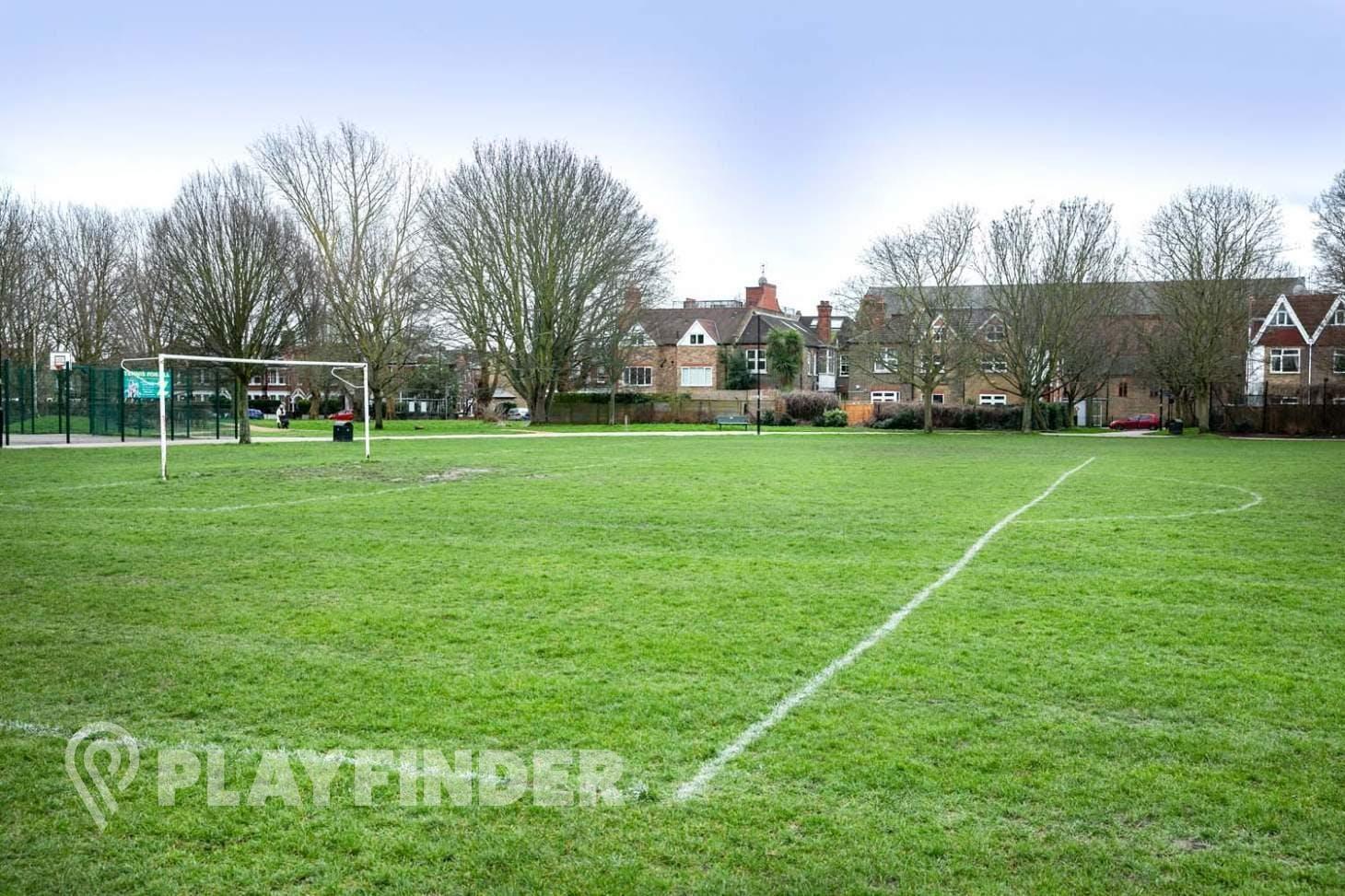 Southfield Road Playing Fields 9 a side   Grass football pitch