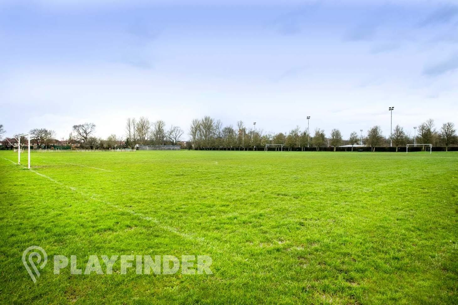 Perivale Park 7 a side   Grass football pitch