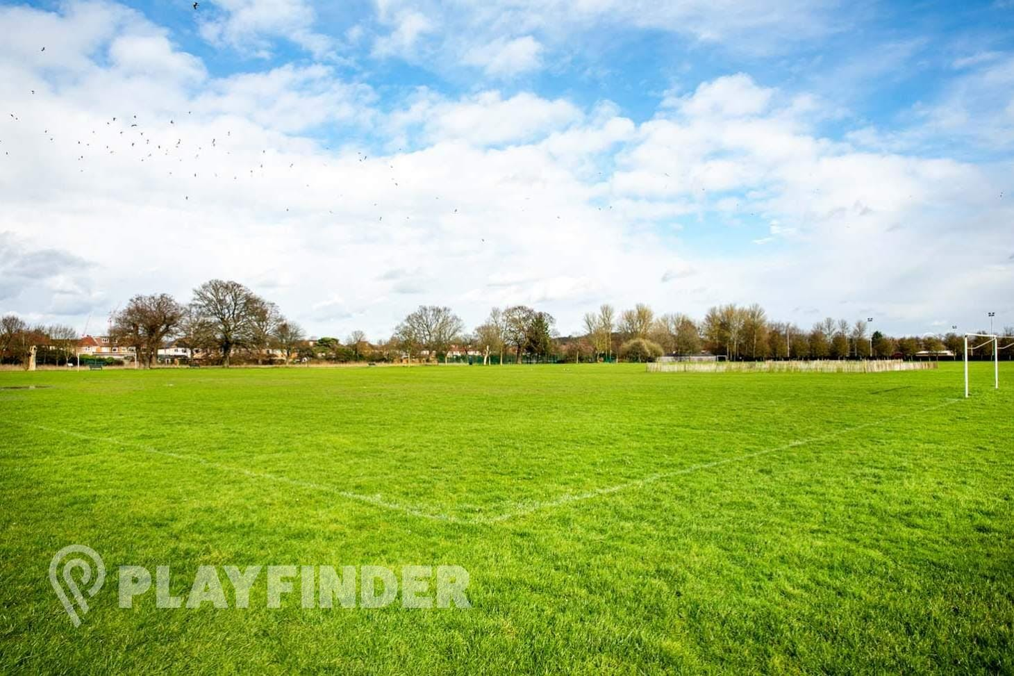 Perivale Park 9 a side | Grass football pitch