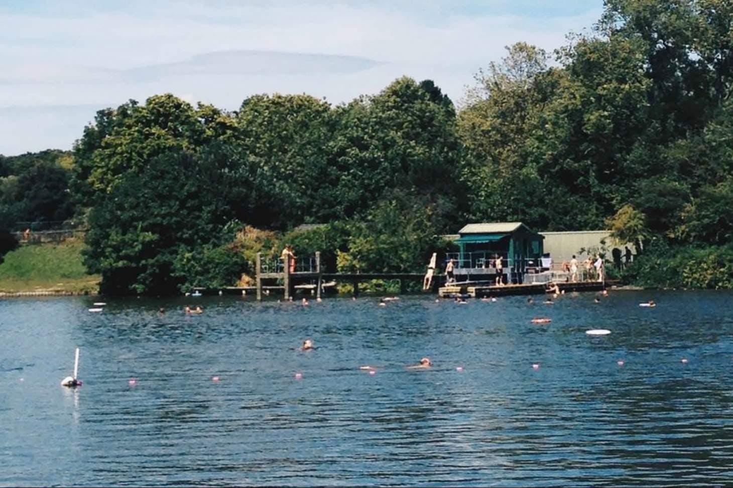 Hampstead Heath Swimming Ponds Outdoor | Mens swimming pool