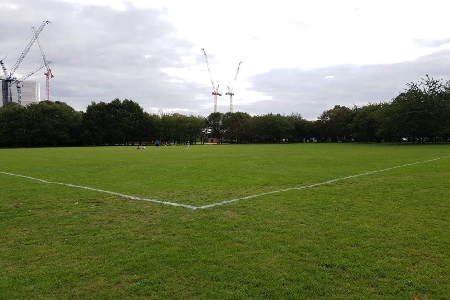 Down Lane Park 9 a side | Grass football pitch