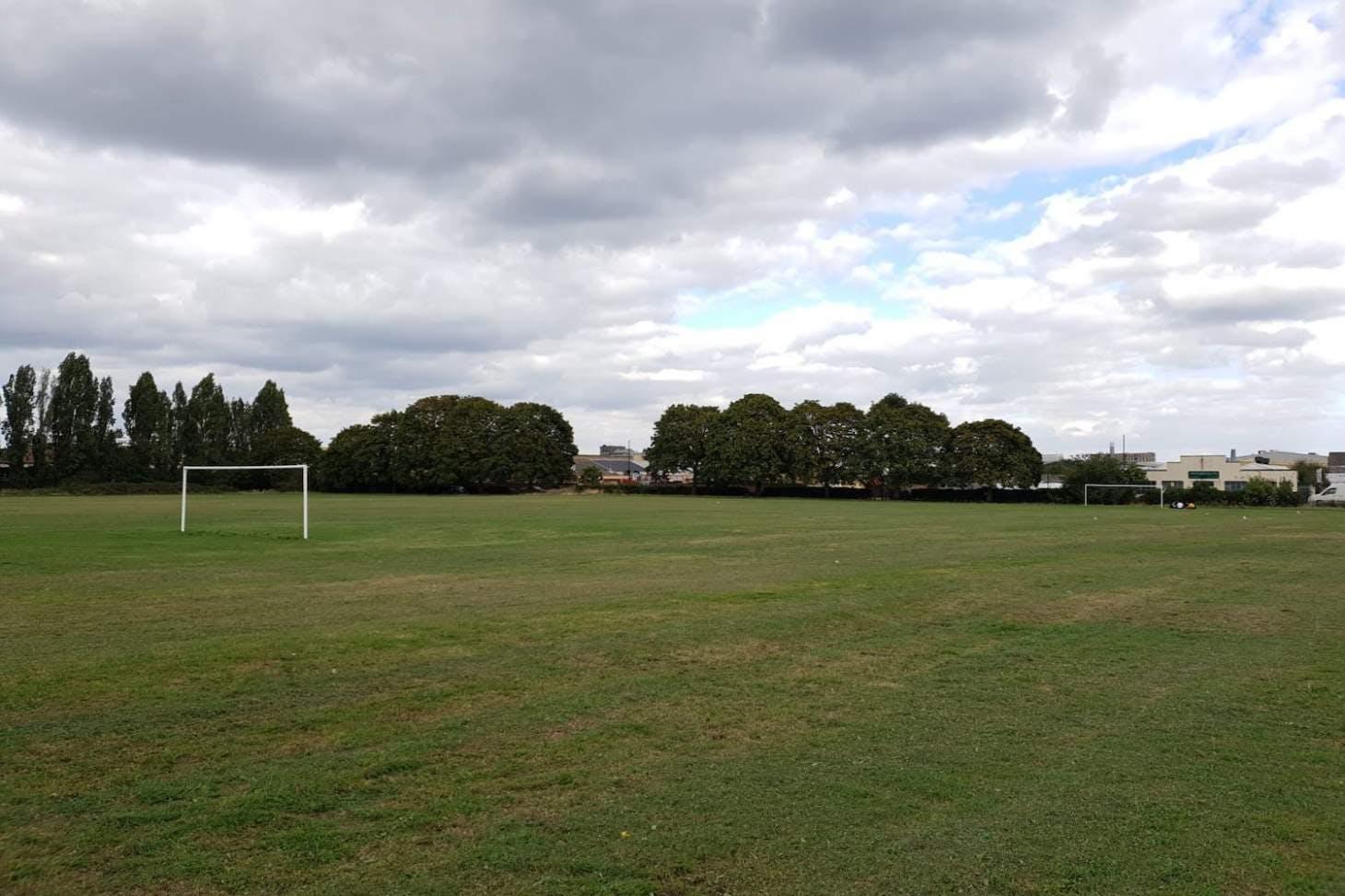 Bull Lane Playing Field 11 a side | Grass football pitch