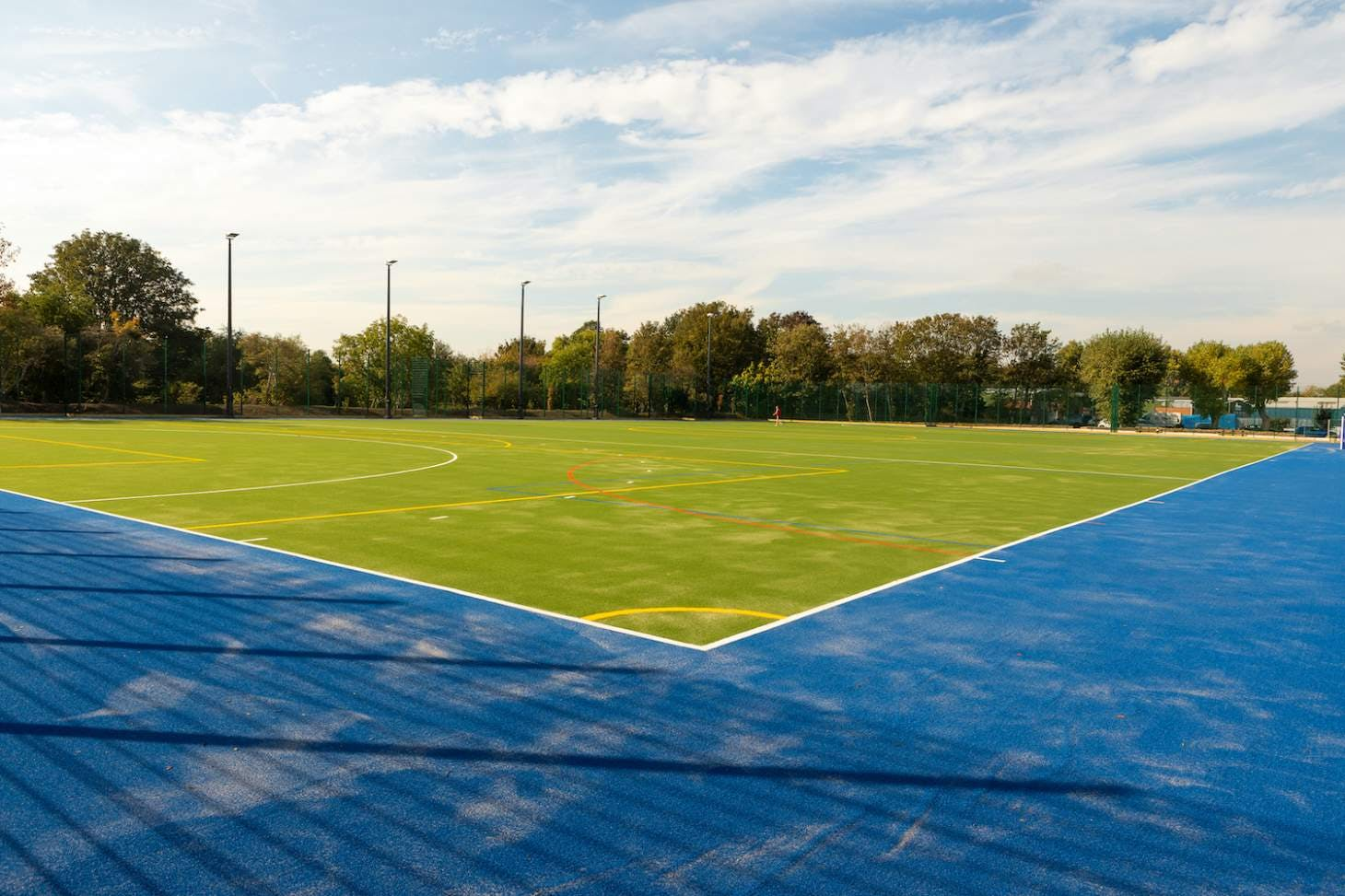 Feel Good Too (formerly Ive Farm Fields) 6-a-side pitch   Sand-based Astroturf hockey pitch