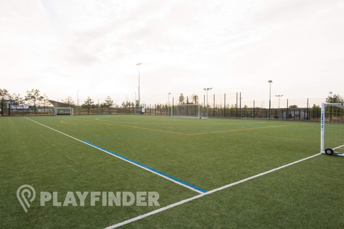 Chobham Academy Training pitch   3G Astroturf rugby pitch