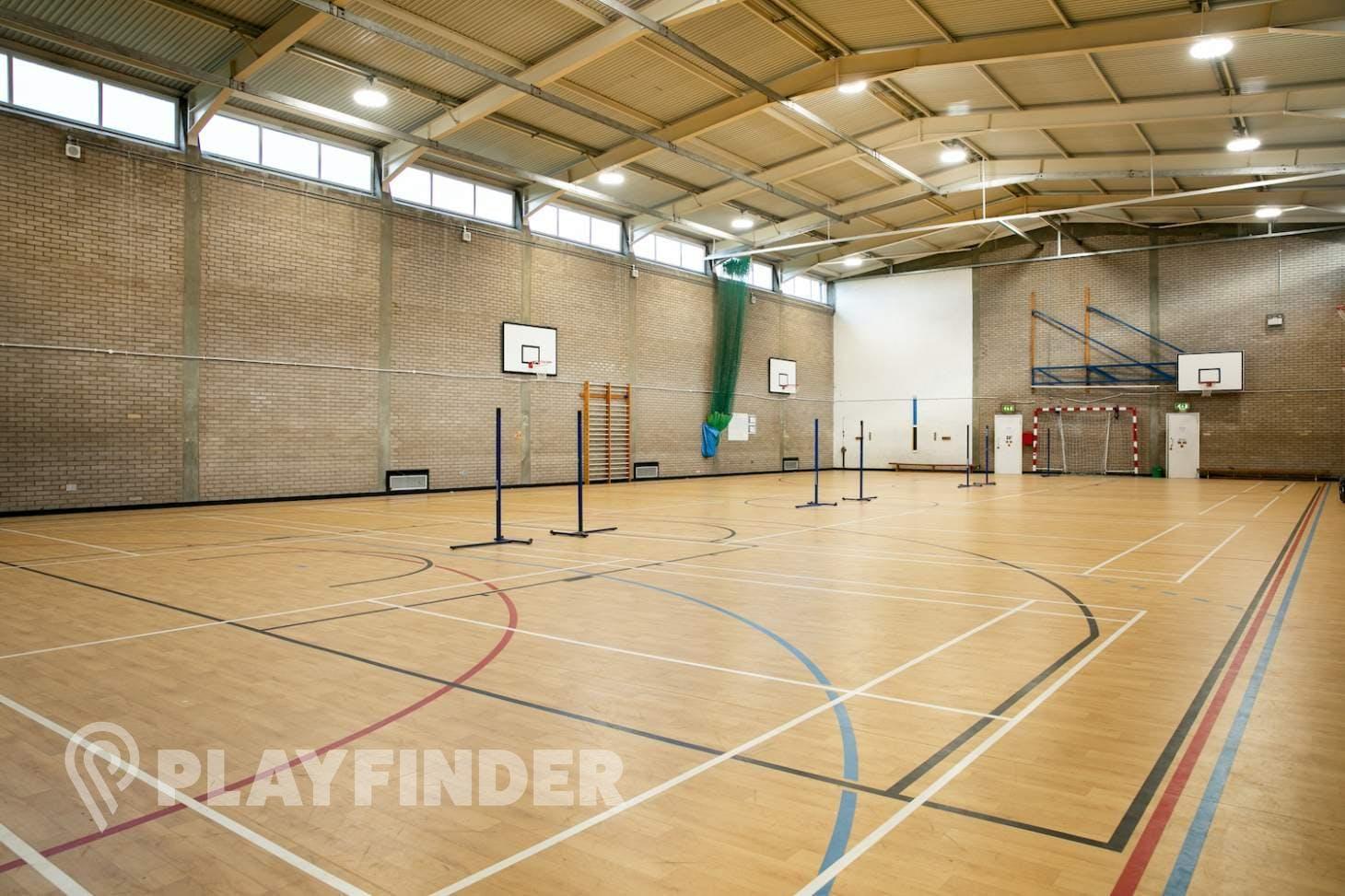 Bexleyheath Academy Court   Sports hall badminton court