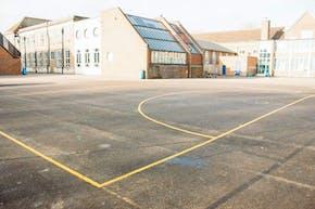 Chiswick School | Hard (macadam) Netball Court
