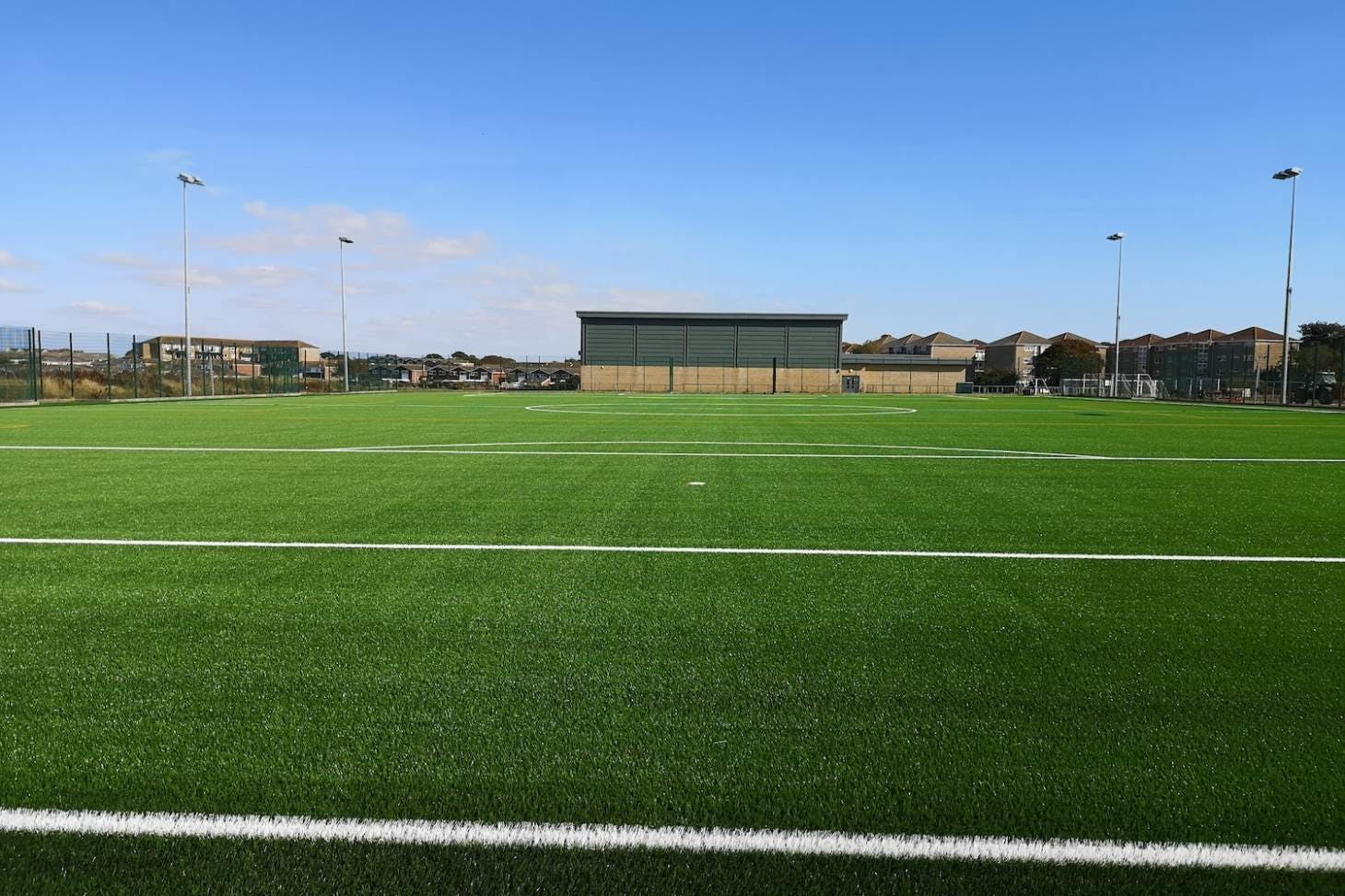Bay House School 7 a side | 3G Astroturf football pitch