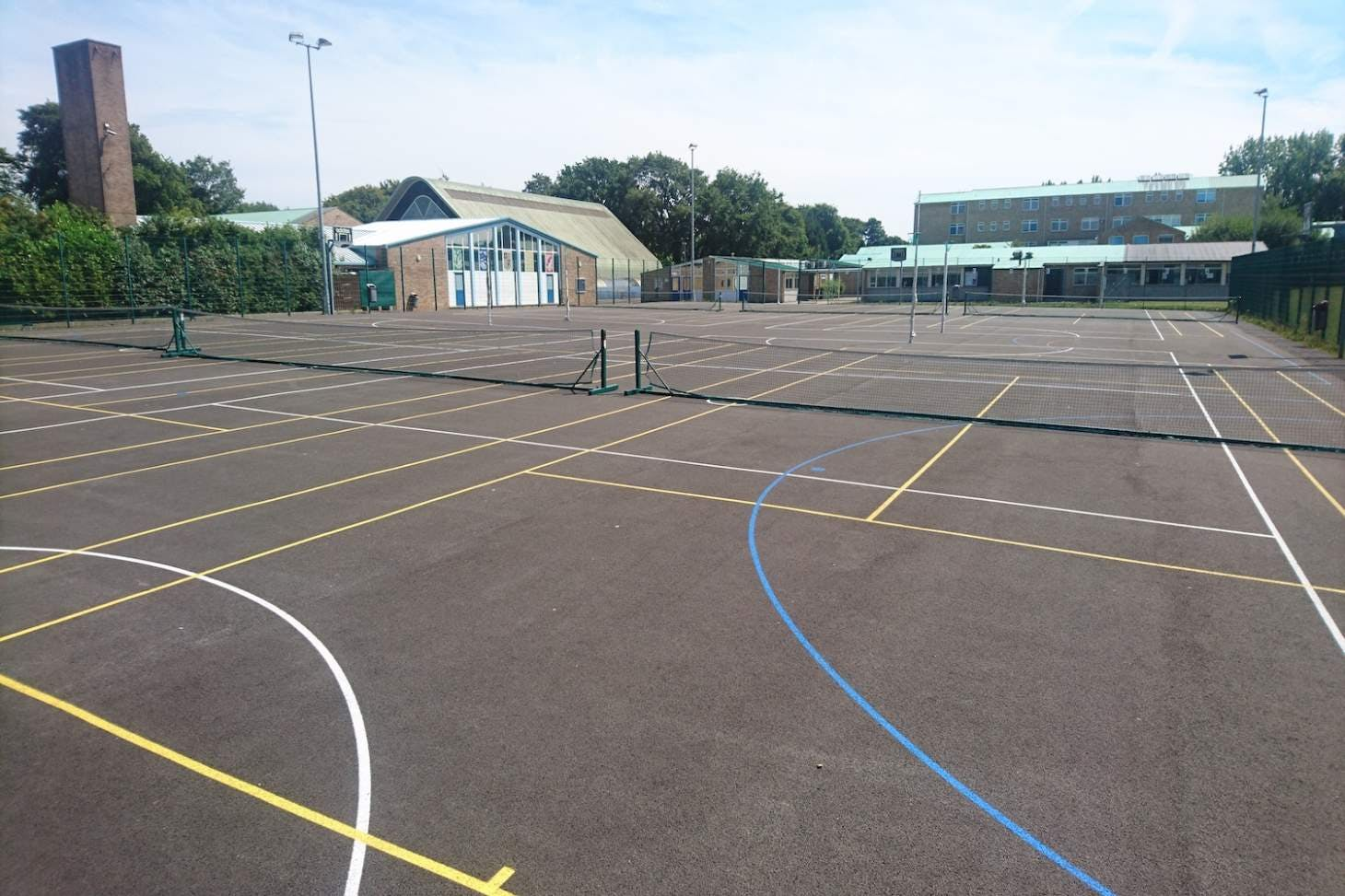 Brune Park School Outdoor | Hard (macadam) netball court