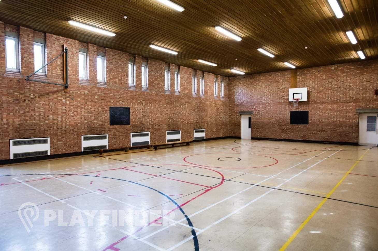 Marcus Lipton Community Enterprise Court | Sports hall tennis court