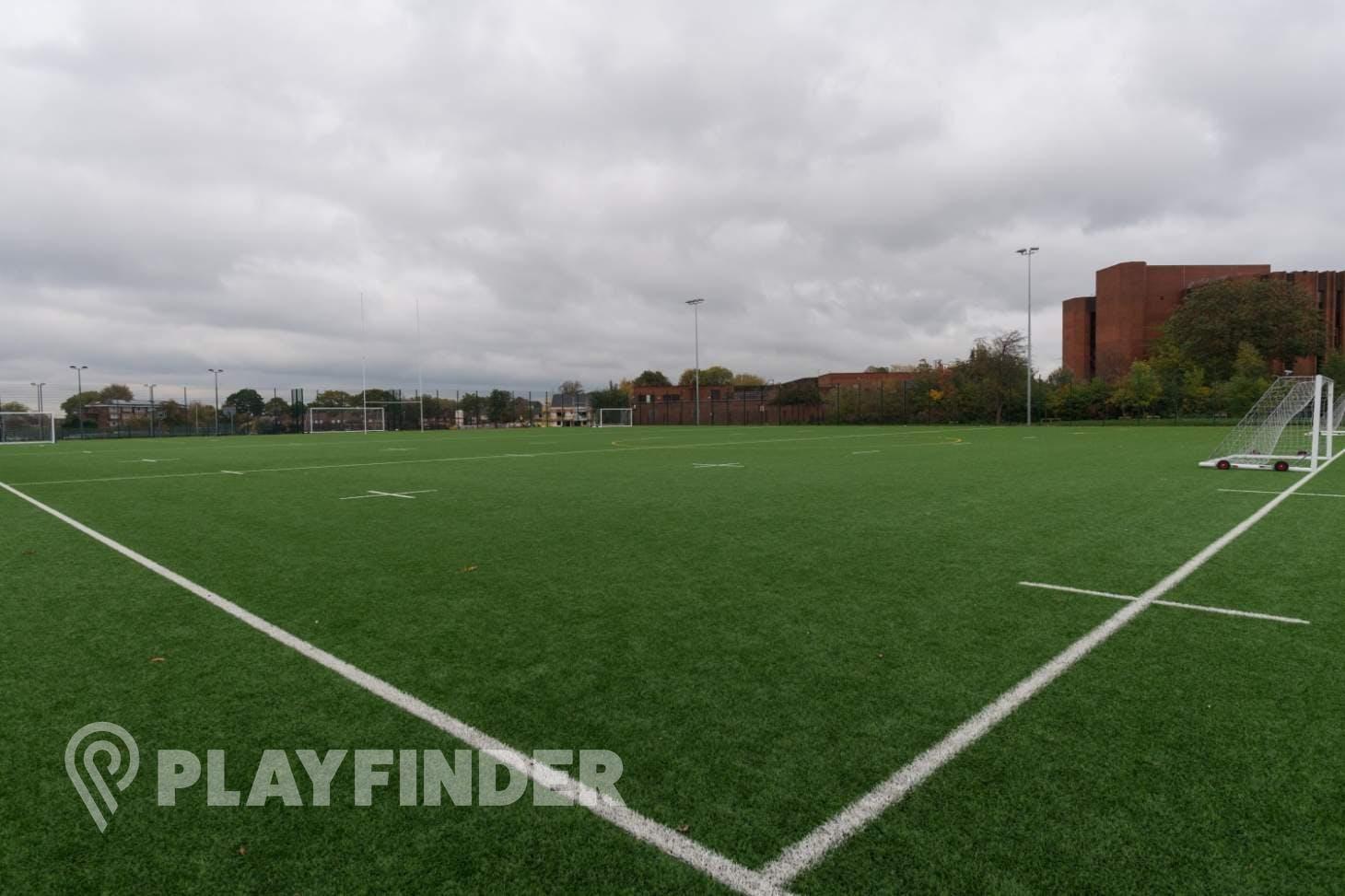 Manchester Enterprise Academy Wythenshawe Training pitch   3G Astroturf rugby pitch
