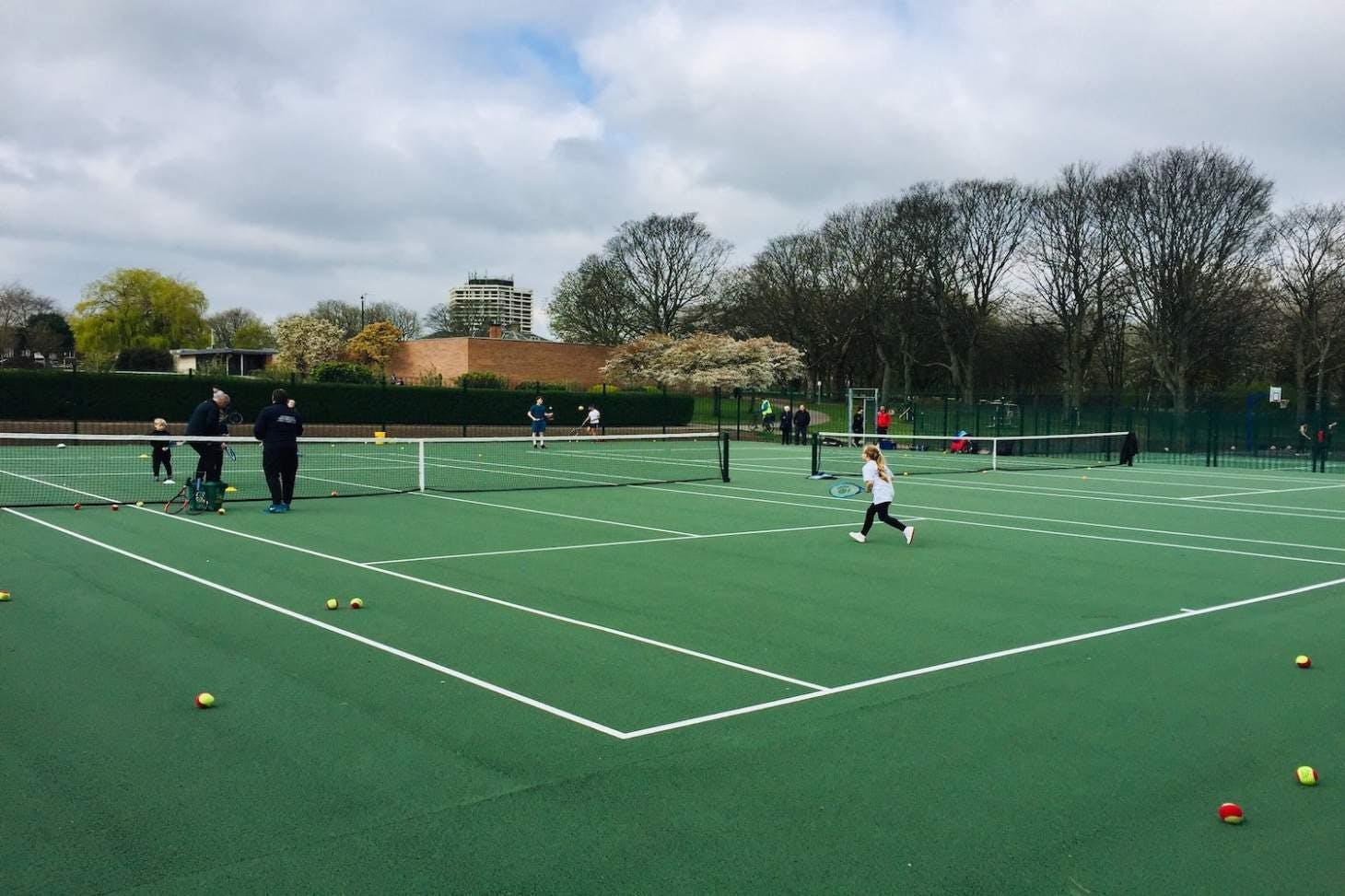 Clifton Park Outdoor | Hard (macadam) tennis court