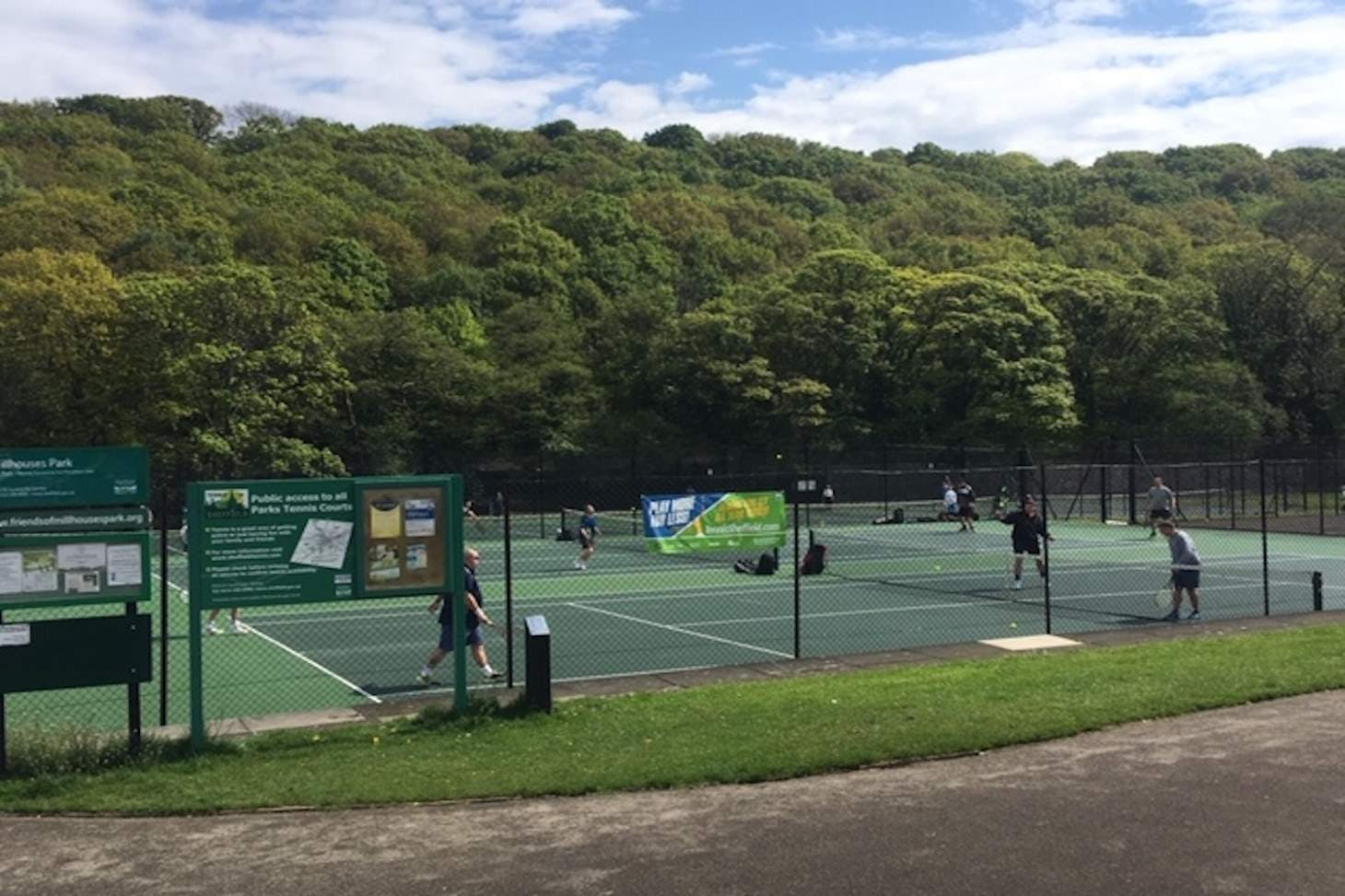 Millhouses Park Outdoor | Hard (macadam) tennis court