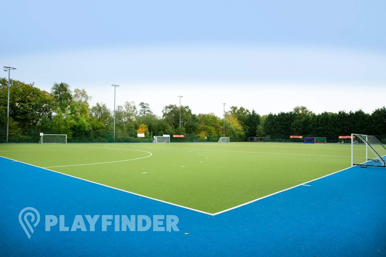 Kings International College 6-a-side pitch | Water-based Astroturf hockey pitch