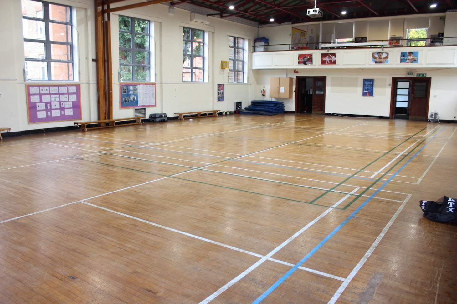 La Sainte Union School Gymnasium space hire