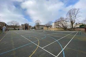 La Sainte Union School | Hard (macadam) Netball Court