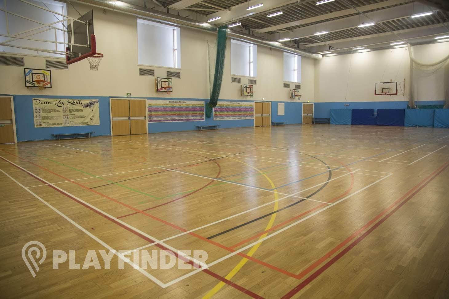 Pimlico Academy School Indoor basketball court